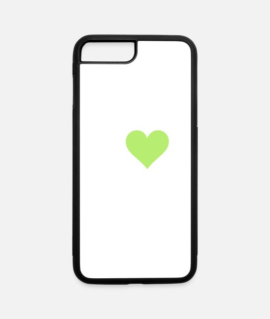 Drugs iPhone Cases - I Love Marijuana! - iPhone 7 & 8 Plus Case white/black