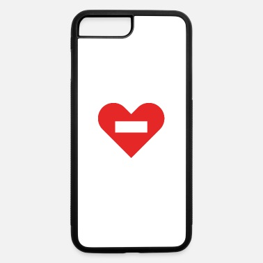 Cuore no entry heart - iPhone 7 Plus/8 Plus Rubber Case