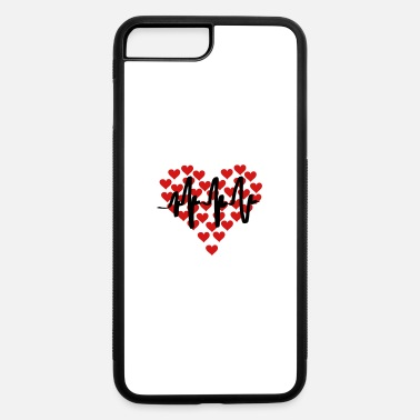 Infarto heart beat - iPhone 7 & 8 Plus Case