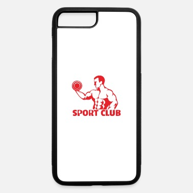 Weights weight lifters - iPhone 7 & 8 Plus Case
