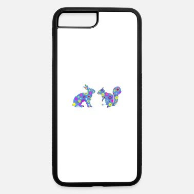 Cute Bunny And Squirrel Pun Design Gift Ideas - iPhone 7 & 8 Plus Case
