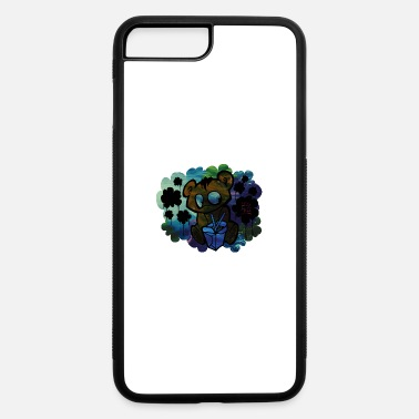 Japanese-inspired Japanese Inspired Bear Graffiti - Abstract Desig - iPhone 7 & 8 Plus Case