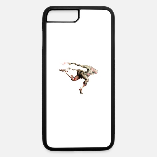 Art iPhone Cases - human body - iPhone 7 & 8 Plus Case white/black