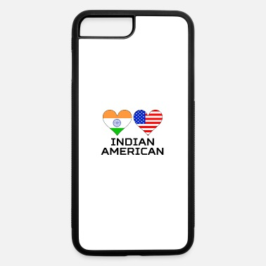 American Indian Indian American Hearts - iPhone 7 Plus/8 Plus Rubber Case
