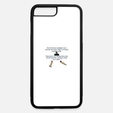 Missile North Koreas Dongless Missile - iPhone 7 Plus/8 Plus Rubber Case
