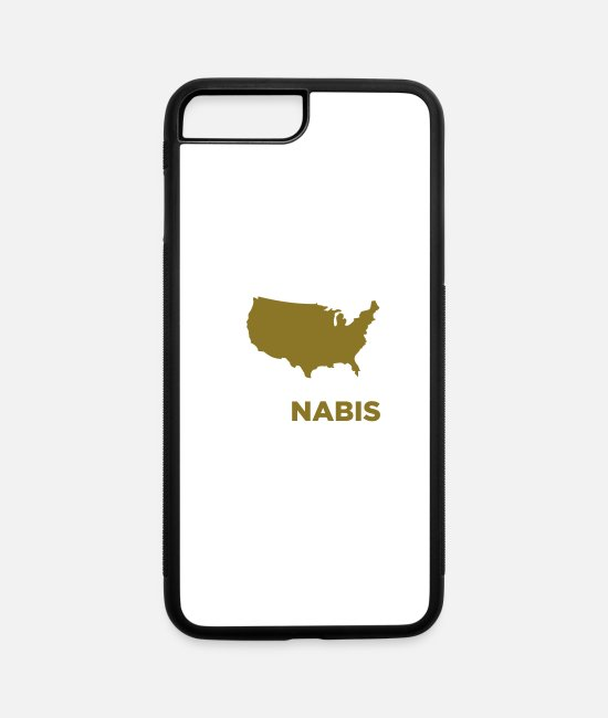 High iPhone Cases - Yes We Cannabis! - iPhone 7 & 8 Plus Case white/black