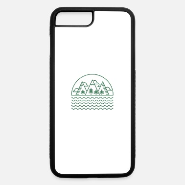 Lake Mountains by the Lake - iPhone 7 Plus/8 Plus Rubber Case