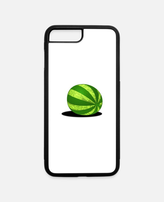 Fruit iPhone Cases - Melon - iPhone 7 & 8 Plus Case white/black