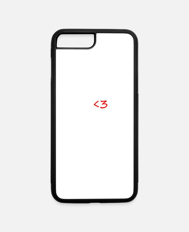 Heart iPhone Cases - I Love Beer - iPhone 7 & 8 Plus Case white/black