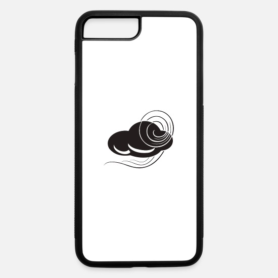 Storm iPhone Cases - storm clouds - iPhone 7 & 8 Plus Case white/black
