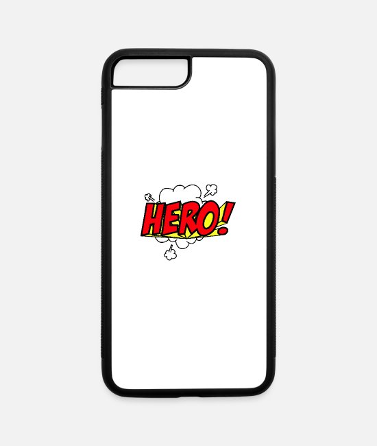 Mode iPhone Cases - Comic - iPhone 7 & 8 Plus Case white/black