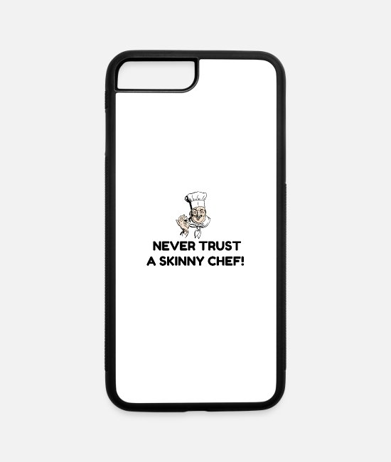 Christmas iPhone Cases - Skinny Chef - iPhone 7 & 8 Plus Case white/black