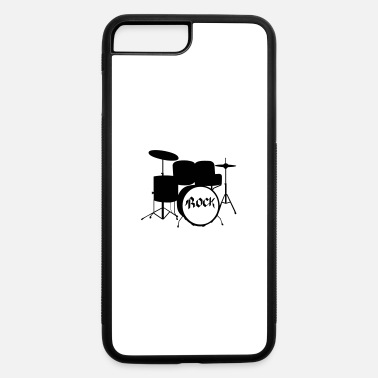 Tambores Rock Drummer - Drums - Rock and Roll - Band - iPhone 7 & 8 Plus Case