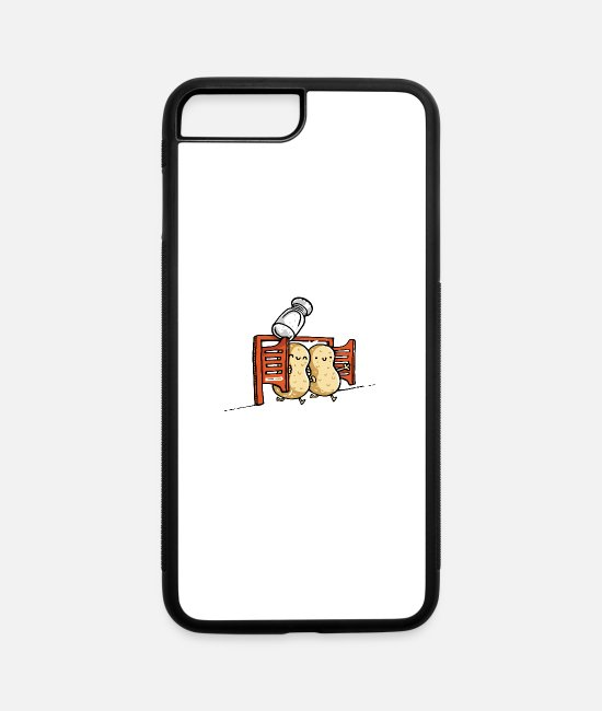 Game iPhone Cases - Two Peanuts - iPhone 7 & 8 Plus Case white/black
