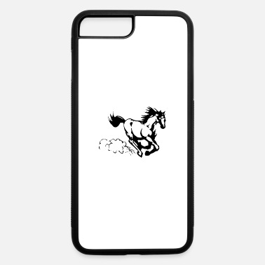 Gallop Galloping horse - iPhone 7 Plus/8 Plus Rubber Case
