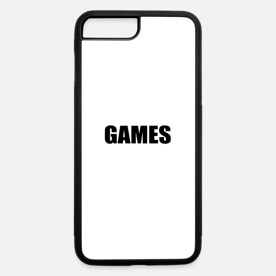 Game iPhone Cases - GAMES - iPhone 7 & 8 Plus Case white/black