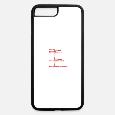 Number numbers - iPhone 7 Plus/8 Plus Rubber Case