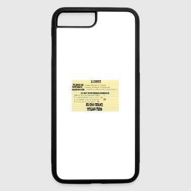 HELLO MY NAME IS - iPhone 7 Plus/8 Plus Rubber Case