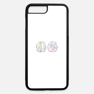 Scheme Human brain scheme - iPhone 7 & 8 Plus Case