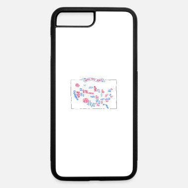 Usa Map USA map - iPhone 7 & 8 Plus Case