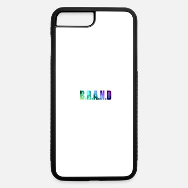 Brand BRAND - iPhone 7 Plus/8 Plus Rubber Case