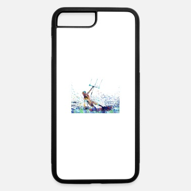 Kiteboard Kitesurfing, kiteboarding - iPhone 7 Plus/8 Plus Rubber Case