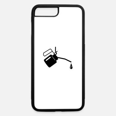 Oil An oil can and oil drop - iPhone 7 & 8 Plus Case