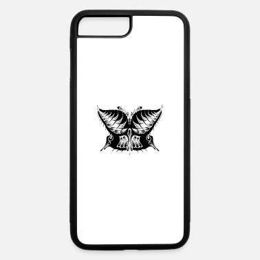 Abstract Abstract Butterfly Silhouette - iPhone 7 & 8 Plus Case