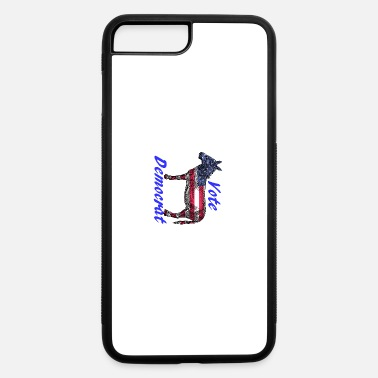 Democrat Vote Democrat - iPhone 7 Plus/8 Plus Rubber Case