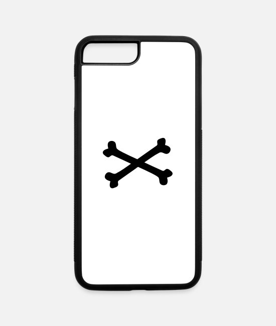 Venom iPhone Cases - Crossbones - iPhone 7 & 8 Plus Case white/black