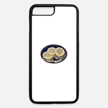Refreshment Refreshing Lemon Slices - iPhone 7 Plus/8 Plus Rubber Case