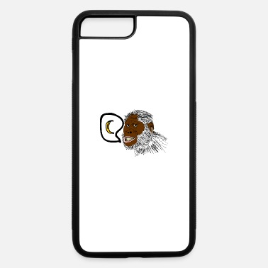 Monkey With Headphone Music loving monkey - iPhone 7 & 8 Plus Case