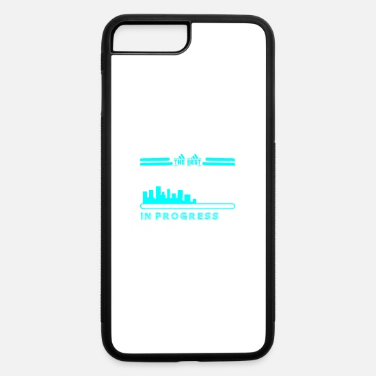 Construction iPhone Cases - The Best Construction Worker In Progress - iPhone 7 & 8 Plus Case white/black