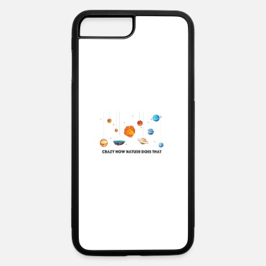 Flat Earth solar system - iPhone 7 & 8 Plus Case