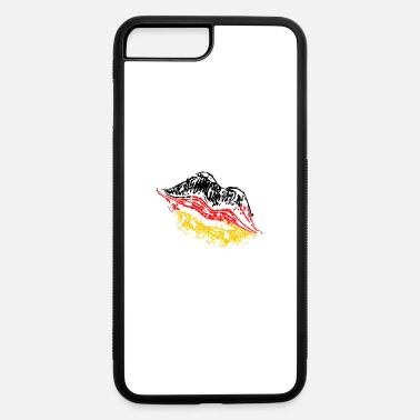 Kussmund Kiss mouth Germany - iPhone 7 & 8 Plus Case
