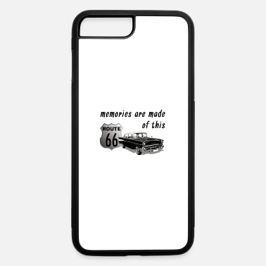 Car Memories are Made of This. 57 Chevy Route 66 - iPhone 7 & 8 Plus Case