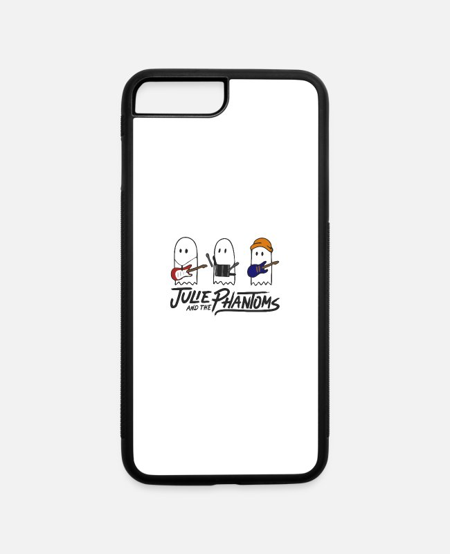 Sunset iPhone Cases - Julie And The Phantoms Sunset Curve Logo - iPhone 7 & 8 Plus Case white/black