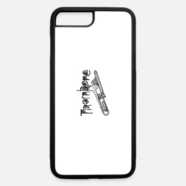 Cobweb Trombone Halloween Cobwebs - iPhone 7 & 8 Plus Case