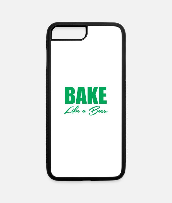 Movie iPhone Cases - Bake Like A Boss 5 - iPhone 7 & 8 Plus Case white/black