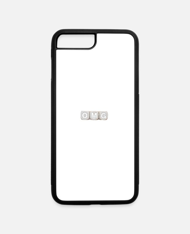 Quote iPhone Cases - omg - iPhone 7 & 8 Plus Case white/black