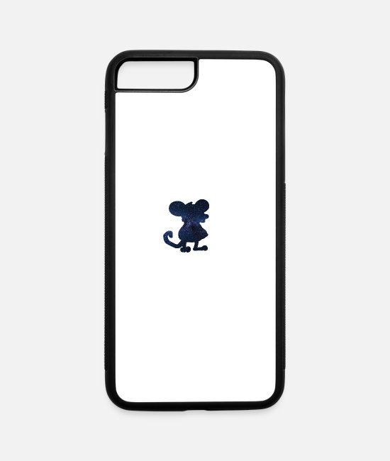 Mouse iPhone Cases - mouse - iPhone 7 & 8 Plus Case white/black