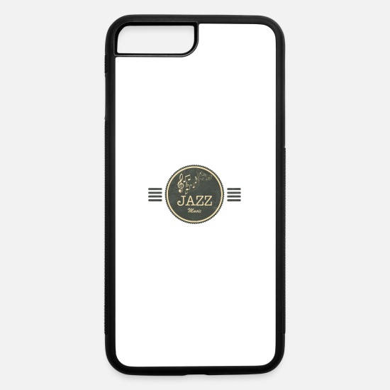 Music iPhone Cases - Jazz Music - iPhone 7 & 8 Plus Case white/black