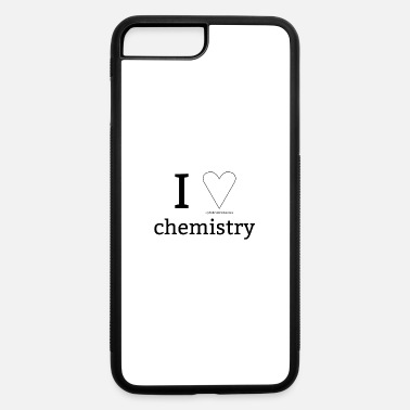 I Heart I ♡ chemistry - I love chemistry - I HEART - IUPAC - iPhone 7 Plus/8 Plus Rubber Case