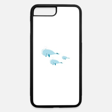Group whale group - iPhone 7 Plus/8 Plus Rubber Case