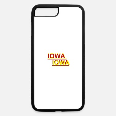 Iowa Iowa Iowa Red and Yellow - iPhone 7 & 8 Plus Case
