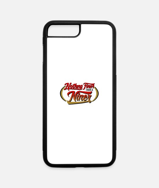 Drink Team iPhone Cases - 40 9 ERS 40oz 9mm Drink - iPhone 7 & 8 Plus Case white/black