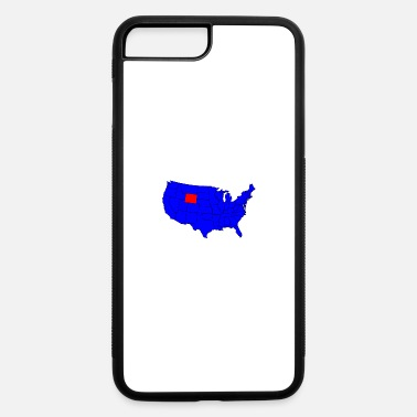 State Motto State of Wyoming Location - iPhone 7 & 8 Plus Case