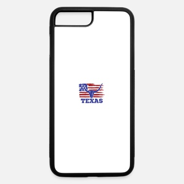 Los Angeles Usa Flag Texas - iPhone 7 & 8 Plus Case