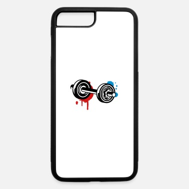 Graffiti Train A dumbbell graffiti - iPhone 7 & 8 Plus Case