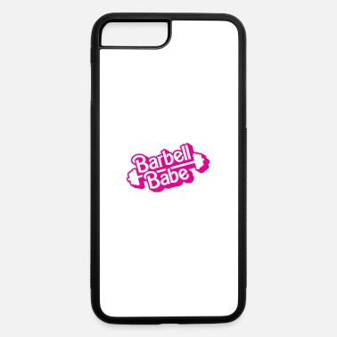 Babes Barbell Babe Doll Logo - iPhone 7 & 8 Plus Case